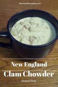 Gluten Free New England Clam Chowder