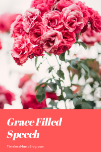 Grace Filled Speech