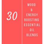 30 Mood & Energy Boosting Essential Oil Diffuser Blends