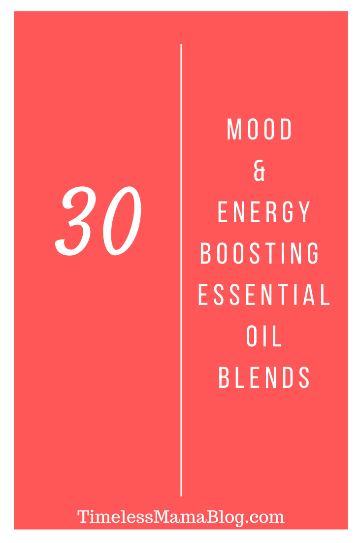 Mood and Energy Essential Oil Blends