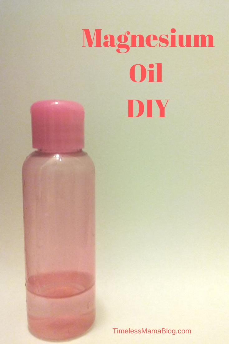 Magnesium Oil DIY