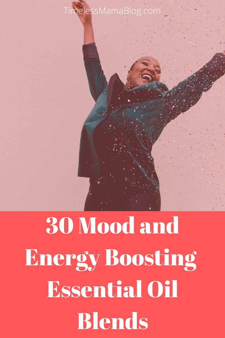 Mood and Energy Boosting Essential Oil Blends