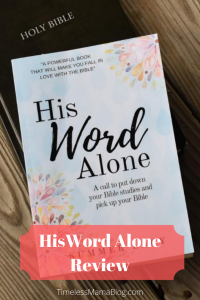 His Word Alone