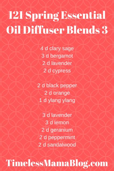 Spring Inspired Essential Oil Blends