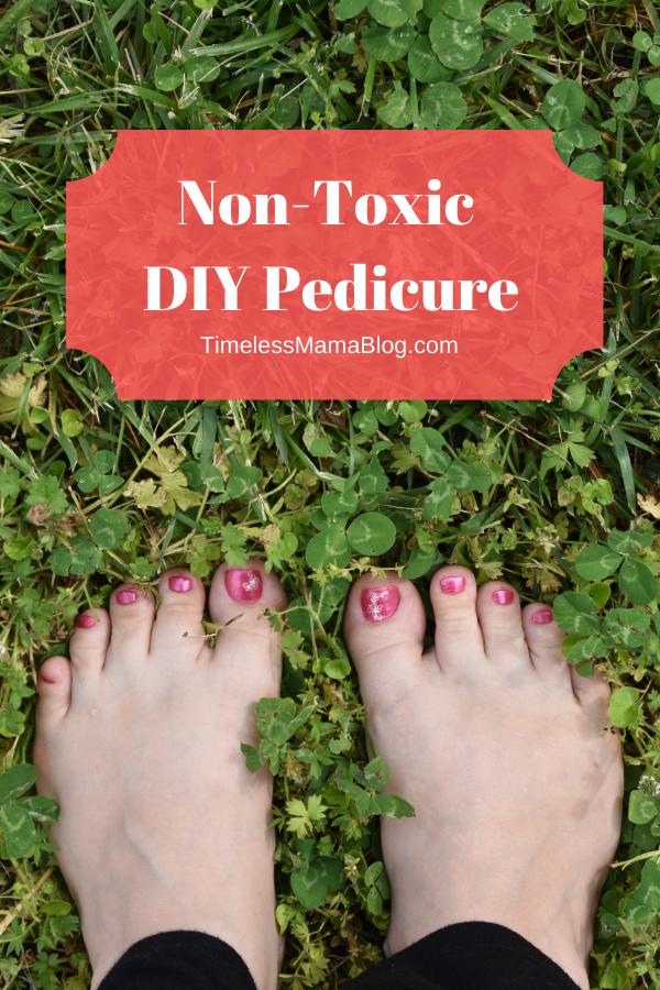 Non Toxic DIY Pedicure