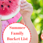 Summer Family Bucket List (With Printable)