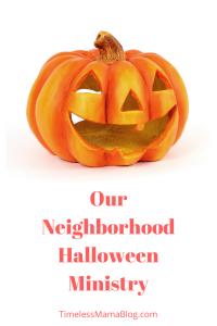 Ministering on Halloween