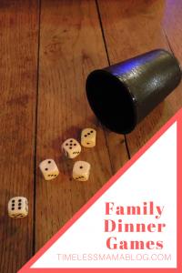 Family Dinner Games