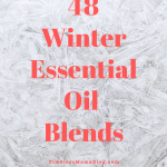 48 Winter Essential Oil Diffuser Blends
