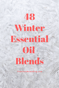 Winter Essential Oil Blends
