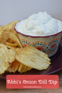 dip with chips