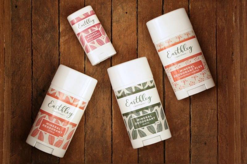earthley mineral deodorants plus