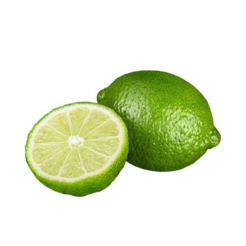 sliced lime as  <a class=